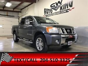 2011 Nissan Titan SL / Leather / Roof / 4x4 / Crew / Financing