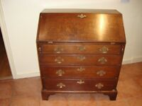 Old Oak Writing Bureau