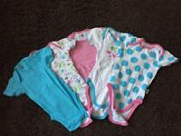 Baby Jockey short sleeves popper vests