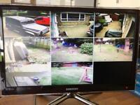 Colour HD/IR Vandal Resistant CCTV System & 2TB PVR