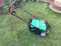 Qualcast Lawn rake scarifier.