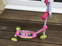 Disney Minnie Mouse 3 wheeled Scooter