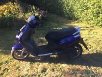 Peugeot vivacity moped 50cc