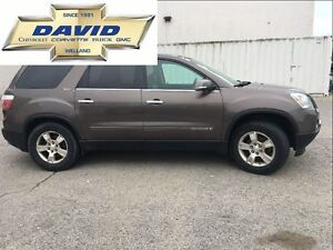 2008 GMC Acadia SLT1 FWD, LEATHER, LOCAL TRADE