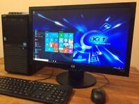 "GAMING PC Acer - i7 3.40Ghz, 8GB, GeForce GTX 550Ti + 22"" HP FULL HD Monitor Desktop PC Computer"