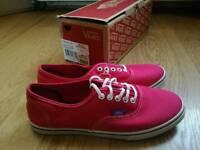 Womens Vans - Brand New - Pink - Size 5
