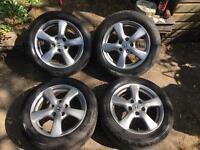 Genuine 4- HONDA CIVIC 2010 alloy wheels