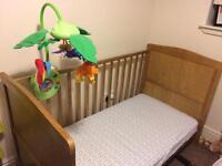 Cotbed & mattress