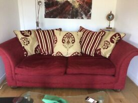 Two very comfortable sofas