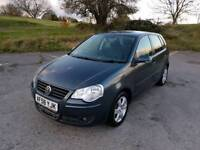 Polo 1.2L 5DR 2008 1 year mot no advisory on mot certificate service history