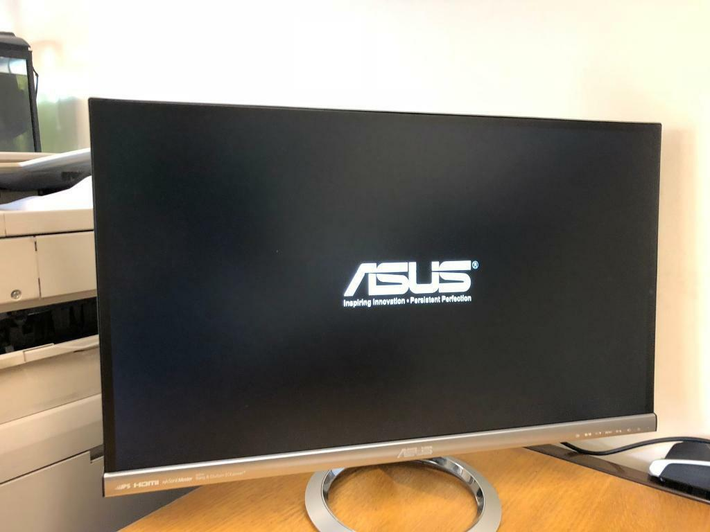 asus monitor audio out not working