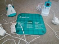 Angel care simplicity AC601 movement sensor with sound baby monitor