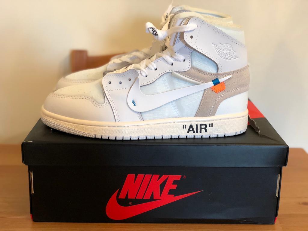 best website 6f5fd 373d2 Nike off white Air Jordan 1 UK 9 Virgil Abloh | in Stratford, London |  Gumtree
