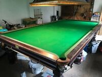 Fred Rowley Professional Snooker Table