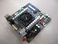 IONITX-U-E Intel Mini-ITX Motherboard With NVIDIA ION Graphics - UNUSED AS NEW
