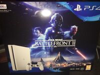 Brand new boxed ps4 slim white with 32 inch tv