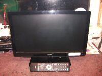 Logik Black 19Ins LED TV &Combi With Remote.