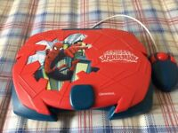 Childs Spiderman laptop with mouse