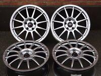 "17"" Team Dynamics Pro Race 1.2 Alloys 5x112pcd ET45mm Audi Seat Skoda Volkswagen Alloy Wheels Rims"
