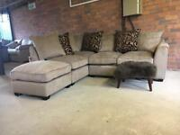 New LHF corner sofa - high end department store - can deliver