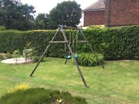 TP Toys - Wooden swing, 2 seater, A- Frame