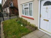 studio ground floor own front and backdoor flat for swap !!
