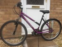 "Ladies Challenge bike 18 gears 18.5"" frame - suit person 5'6 or taller Bradley Stoke"