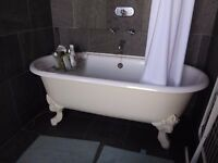Two Cast-Iron Claw-Foot Bathtubs for Sale - £500 each - collection only