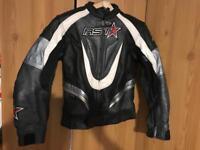 RST 2 piece ladies motorbike leathers (size 14)