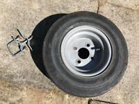 Trailer Wheel and tyres