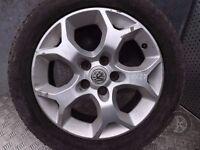 Vauxhall Astra (2004-2010) Single Alloy Spare Wheel 205/55 R16 ref.XX27/1
