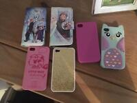 Selection of iPhone 4 / 4s cases