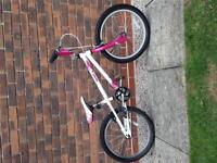 Excellent Condition, Girls MONGOOSE BLAZE BMX Bike Pink & White