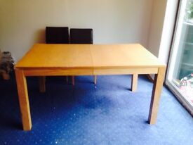 Free-Extendable well used dinning table