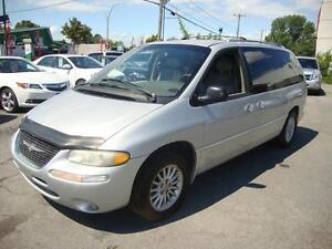2000 Chrysler Town & Country LIMITED Silver