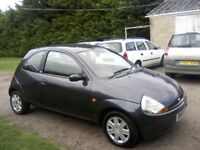 FORD KA 1-3 STYLE CLIMATE 2008 (58 PLATE) 77,000 MILES WITH SERVICE HISTORY, 2 PREVIOUS OWNERS.