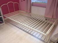 Single bed & single mattress
