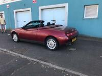 Alfa Romeo Spider Convertible PX 125cc scooter or bike