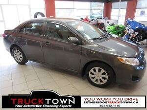 2010 Toyota Corolla LOCAL TRADE, EXCELLENT ON FUEL!