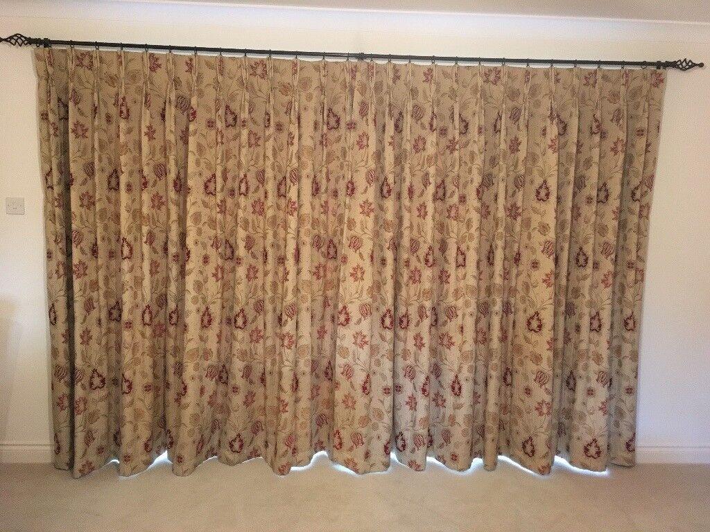 john lewis curtains made in meribel fabric in salisbury. Black Bedroom Furniture Sets. Home Design Ideas