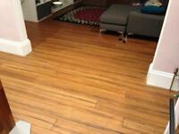 Bamboo flooring solid carbonised