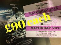 Goodwood Festival of Speed- Saturday tickets