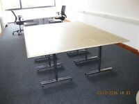 Flip over Conference Table