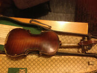 German student violin (3/4 size) - early 20th Century