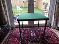 VINTAGE 1940s 1950s UTILITY CC41 VONO FOLDING BRIDGE GAMES TABLE