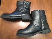 Ladies black ankle boots size 5