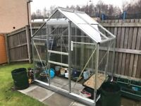 For sale, Greenhouse still to reach its first birthday (6ft x 4ft approx)