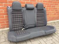 Golf Gti Tartan rear seats