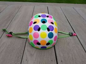 Micro Children's Patterned Helmet - Neon Dot