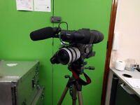 Canon XLH1 HD video camera